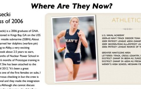 Where are they now? Abby Gesecki GNA '06