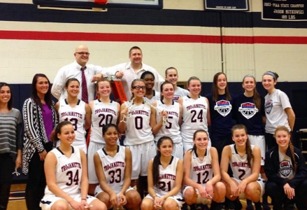 A look back at our Trojanette Basketball conference champions