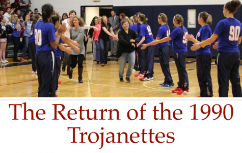 The return of the 1990 Trojanettes