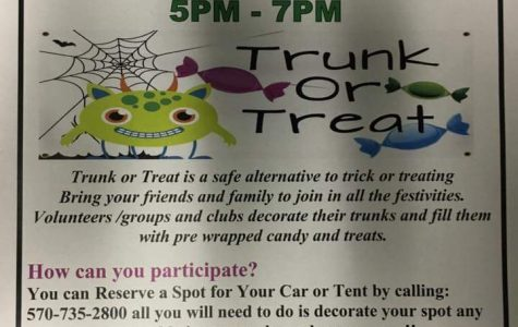 Annual Trunk or Treat at Nanticoke High School