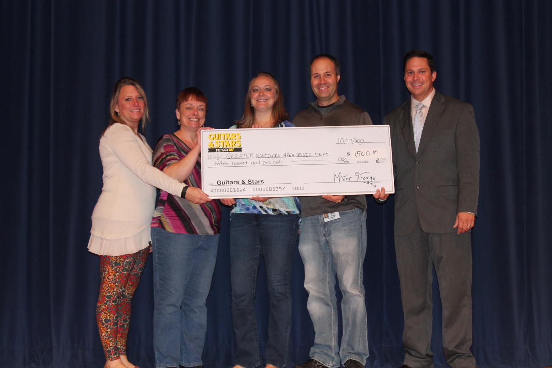 From left to right: Mrs. Scibek, Mrs. Rutkowski, Mrs. Bunnell, Mr. Bunnell, and Dr. Grevera