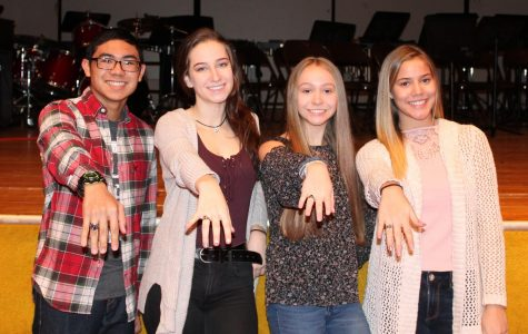 Sophomore class ring ceremony (December 2017)