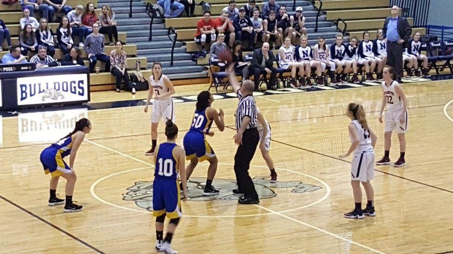 Trojanettes defeat Valley View to advance in districts!