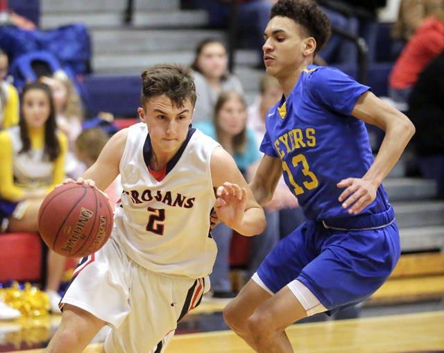 Trojans put on show for Alumni Night to beat Meyers