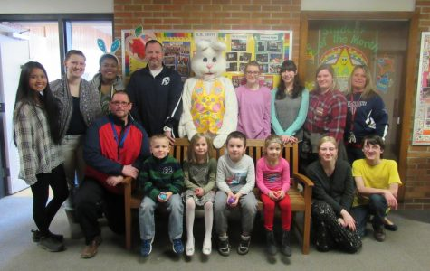 K.M Smith hosts annual egg hunt