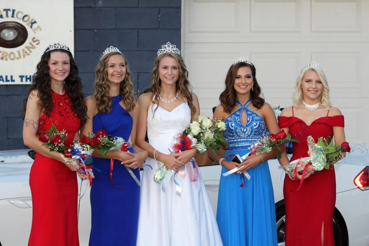 The 2018 GNA Homecoming Court