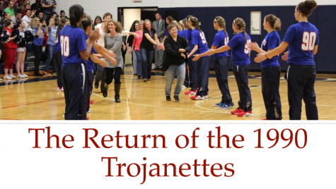 Trojanettes take hard loss, but keep heads high