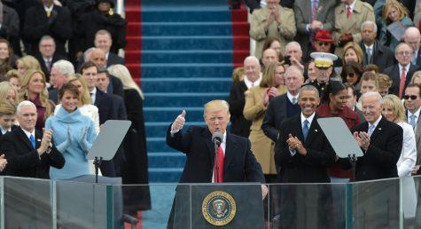 The 2017 Inauguration of Donald Trump
