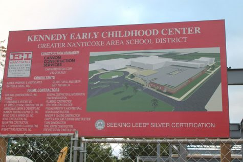 Kennedy Early Childhood Center is progressing