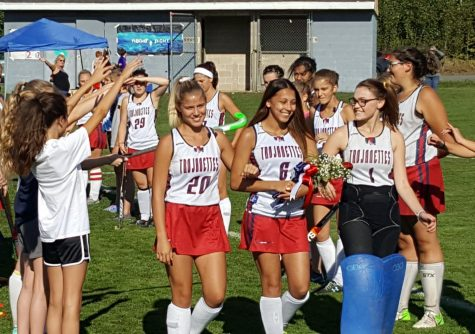 Girls field hockey: Senior night
