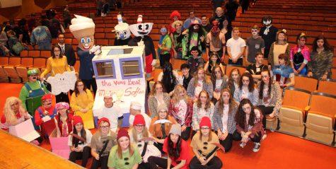 Annual senior Halloween parade