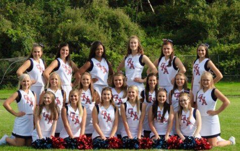 2017-2018 GNA Cheer Squad