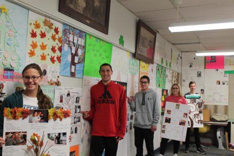 Mrs. Makarcyzk's family tree project