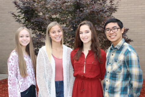Sophomore class officers