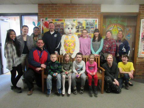 K.M Smith hosts annual egg hunt