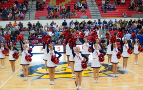 GNA cheerleading: continuing a tradition