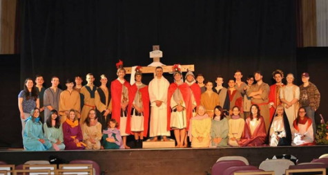 GNA students partake in the 'Living Way of the Cross' – The