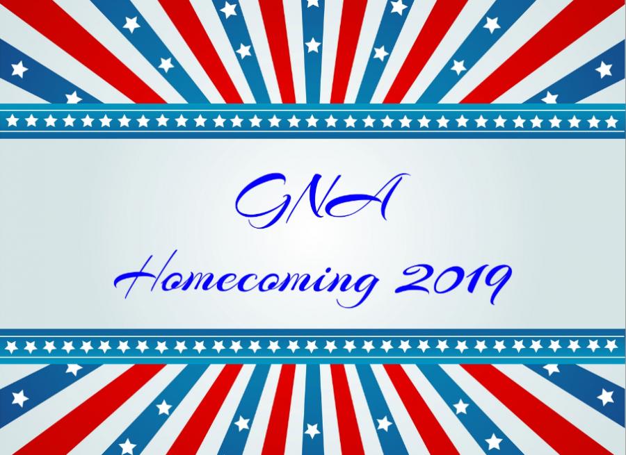 2019 GNA Homecoming Spirit Week schedule