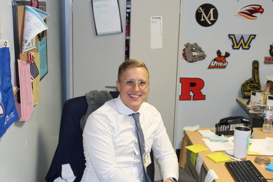 Getting to know our staff: Mr. Joe Yamulla, college adviser