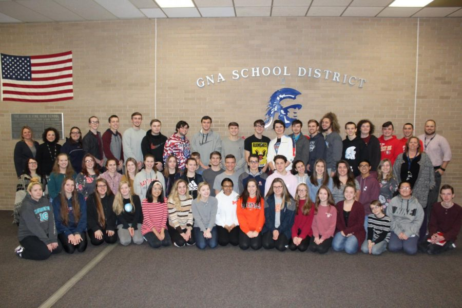 GNA High School AP teachers and students hold flapjack fundraiser to cut costs