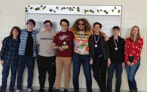 Quiz-bowl team takes first place at Wyoming Area tournament