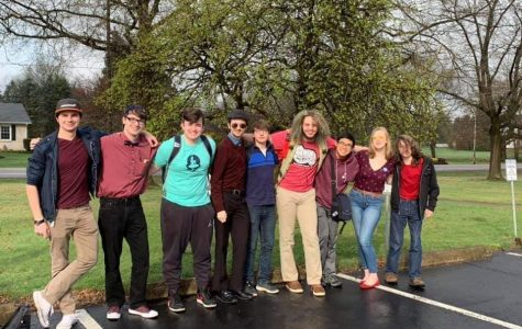 Quizbowl team competes in local tournament