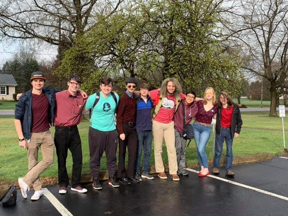 The Nanticoke Quizbowl team competed at Berwick on April 13, 2019