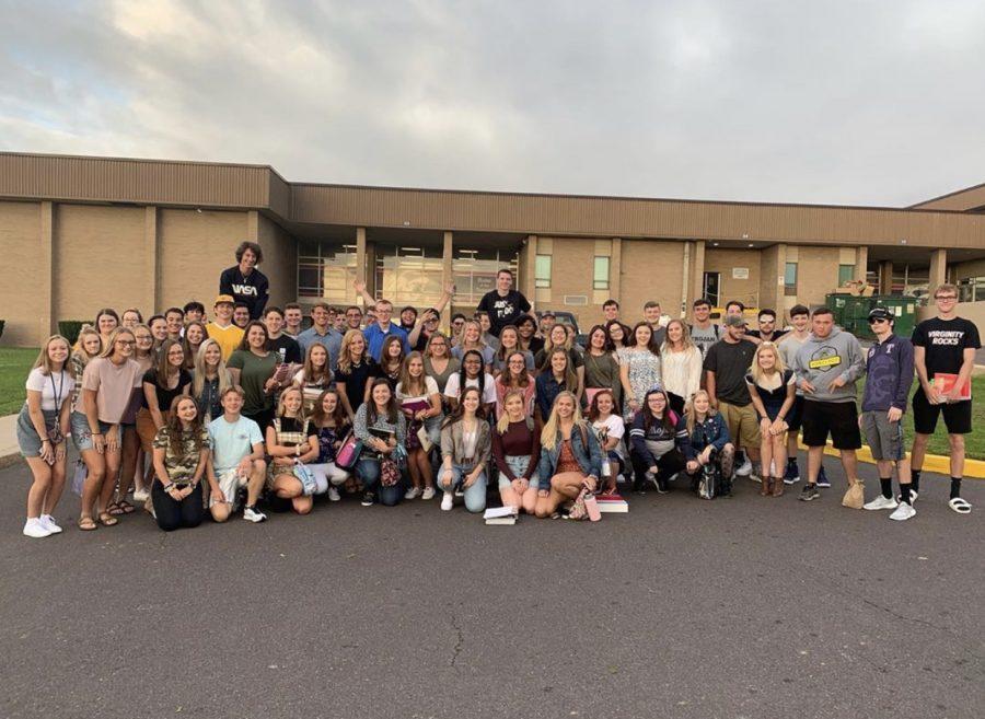 Senior parade 2019-2020