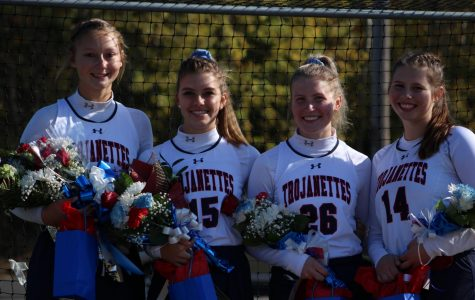 Field hockey senior day