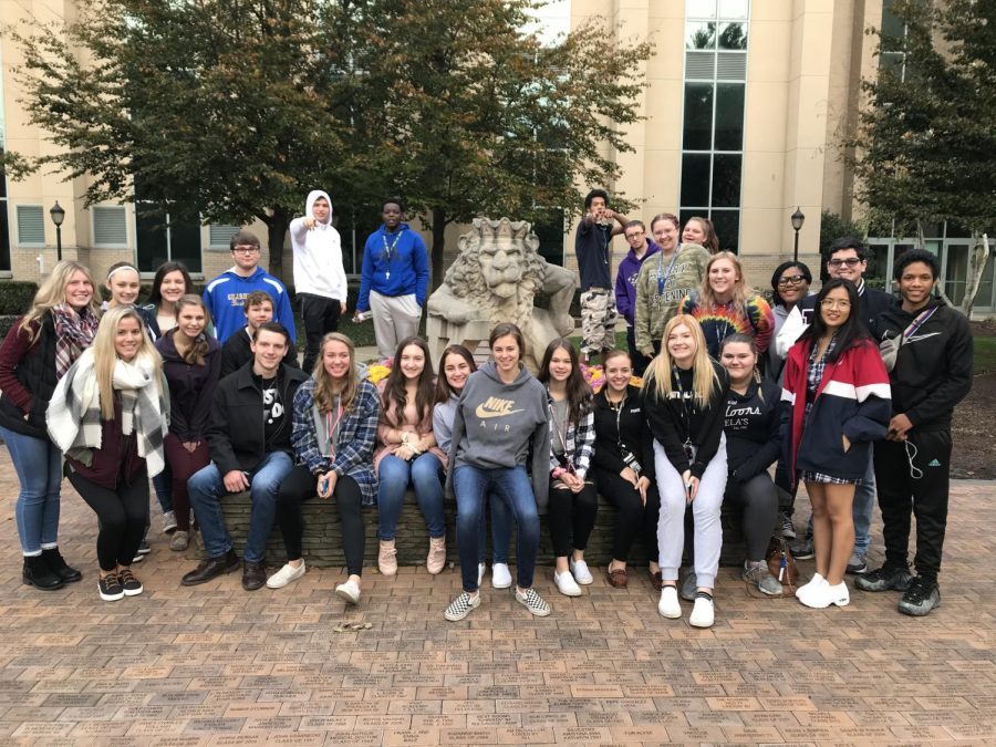 Government class visits King's College
