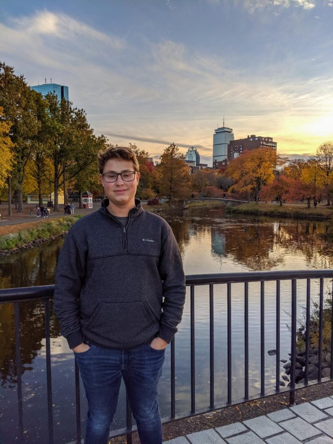 Aaron enjoys walking at the Esplanade in south Boston, and it is one of his favorite places to go to when the weather is nice.