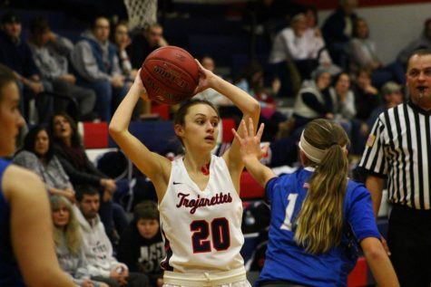 Trojanettes set to play for district title