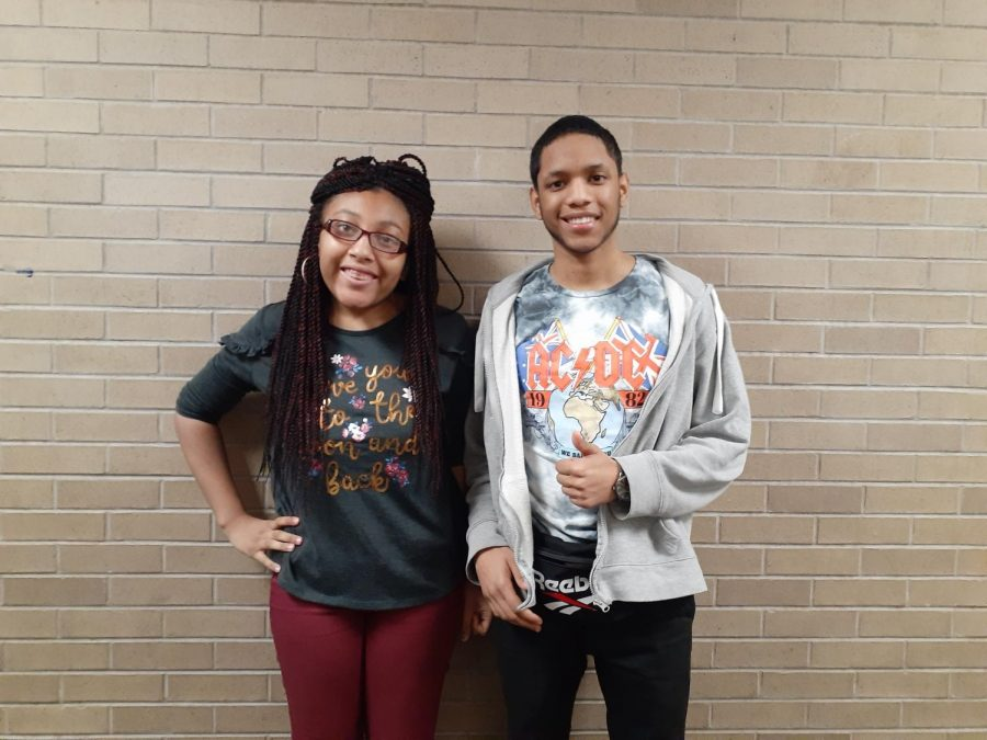 Pictured are Ariana Purnell and Jamel Cardona