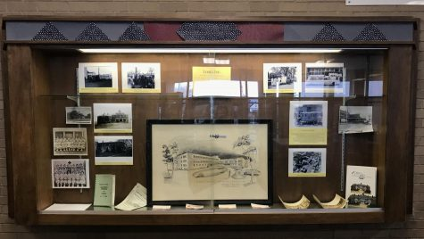January 2020: Historical society display case