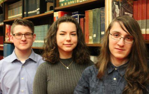 Colin Moorhead, Sophia Tattersall, and Daniel Shevchenko are GNA's representatives for Junior Leadership Wilkes-Barre