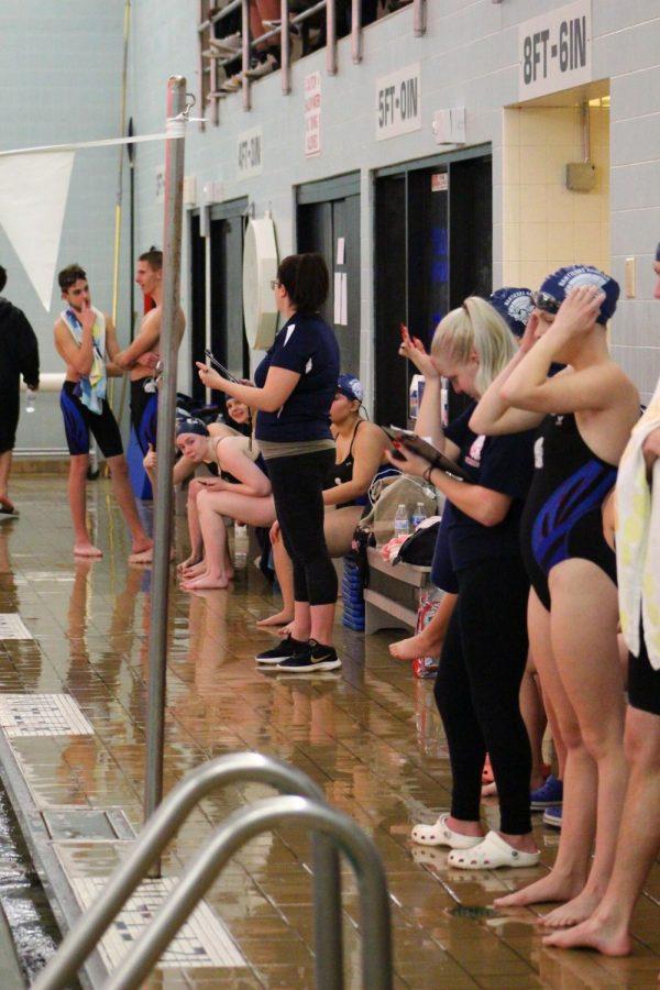 GNA and Hanover swim team