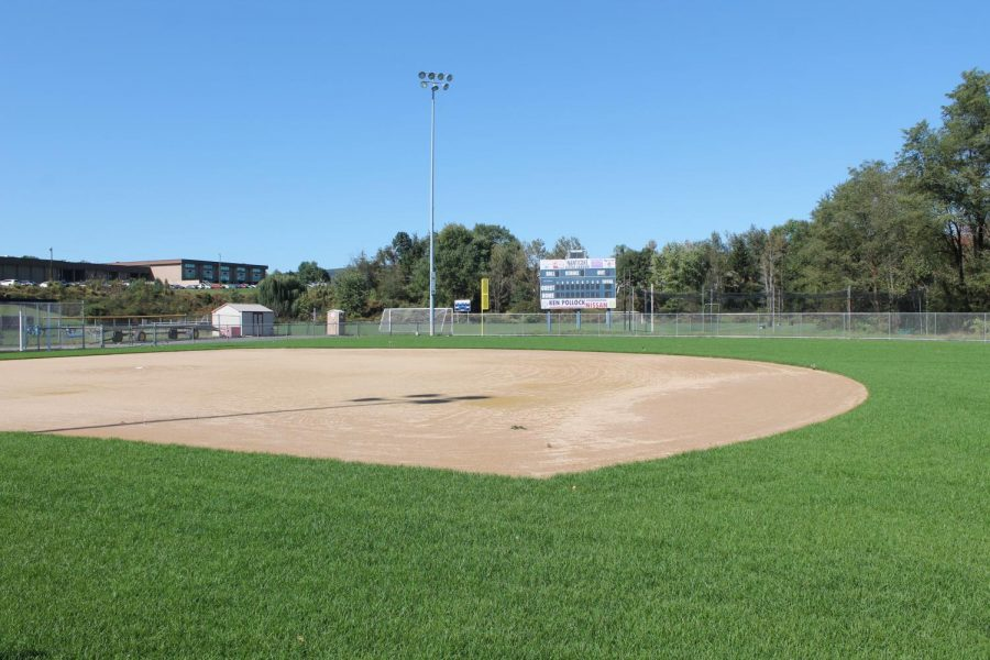 The new softball field is an exciting addition to the GNA campus, and the softball team cannot wait for their season to begin so that they can finally play on it.