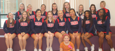 GNA Cheerleaders help celebrate Dr. Seuss week