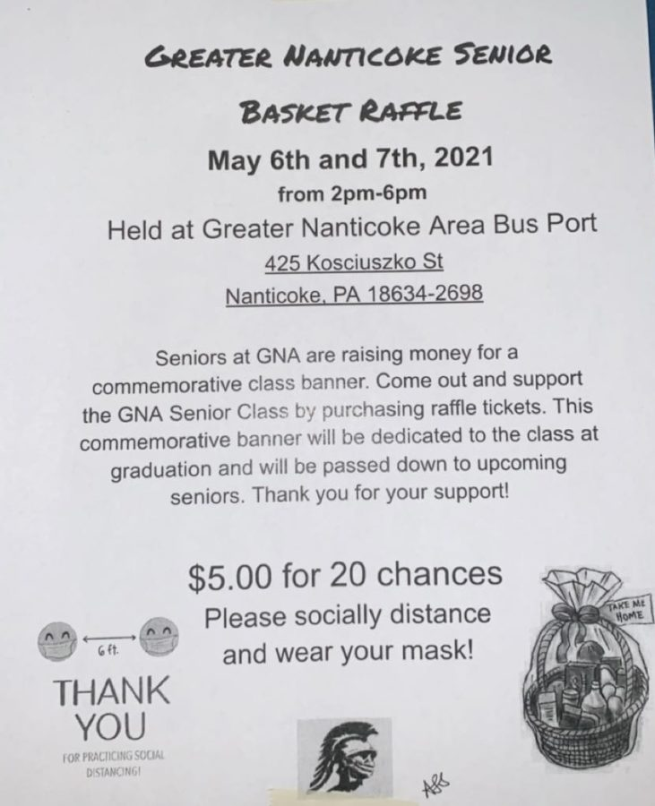 Seniors to hold basket raffle