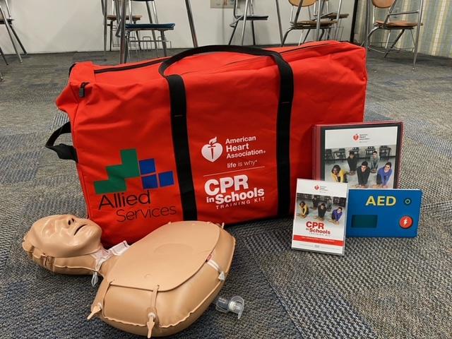 CPR in schools (Photo via PAHomePage)