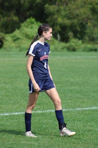 Alexis Atkins leads the WVC in goals.