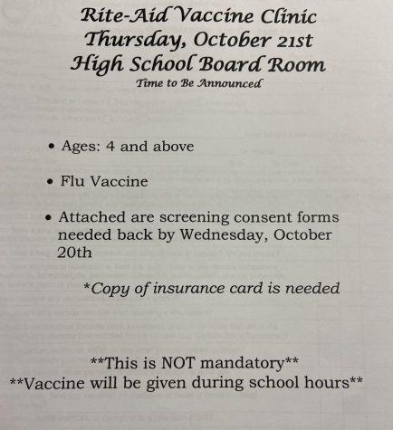 Rite-Aid vaccine clinic